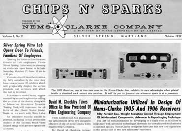 chips and sparks newsletter